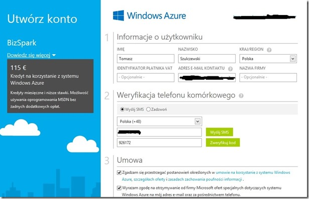WindowsAzureAccount