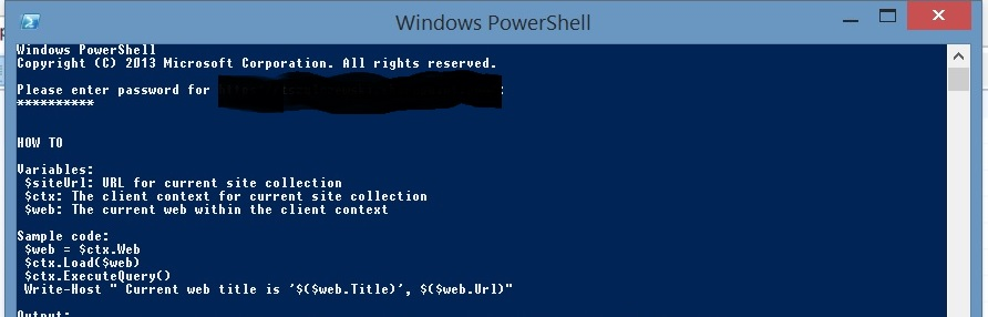 SharePoint PowerShell