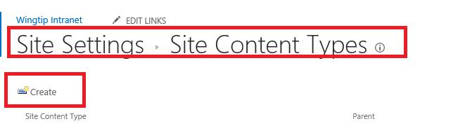 New Content Type