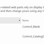 Edit Display Template