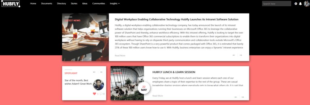 Hubfly Home Page